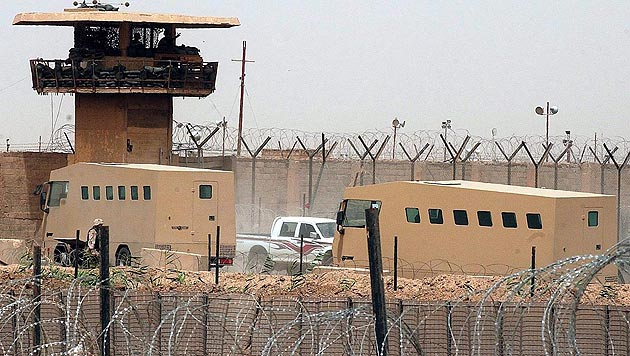 Das berüchtigte Gefängnis Abu Ghraib im Irak (Bild: EPA)