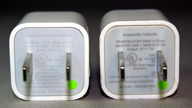 Billigladegeräte für Apples iPhone können tödlich sein (Bild: Ken Shirriff)