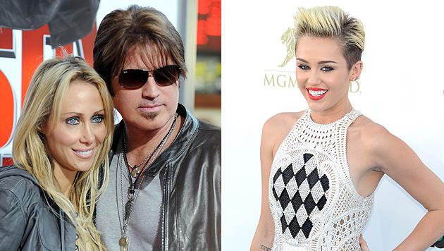 Eltern von Miley Cyrus blasen Scheidung ab (Bild: EPA)