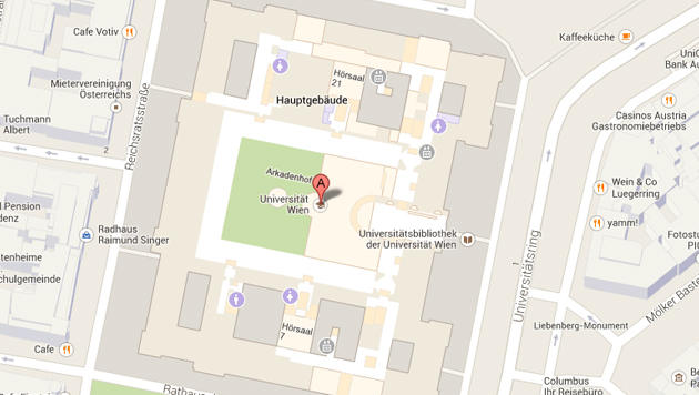 Google Maps mit Indoor-Navigation jetzt in Österreich (Bild: Screenshot, Google Maps)
