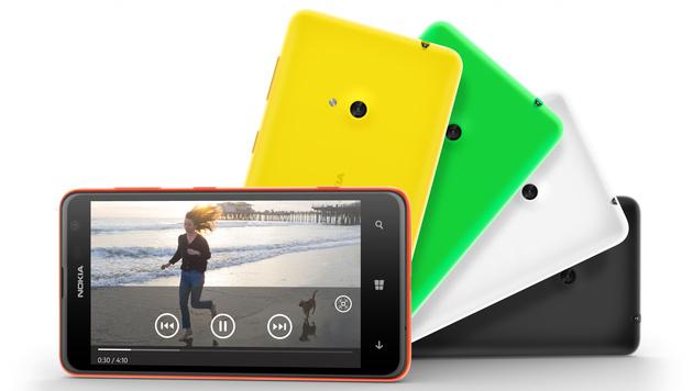 Nokia stellt Lumia 625 mit 4,7-Zoll-Display und LTE vor (Bild: Nokia)