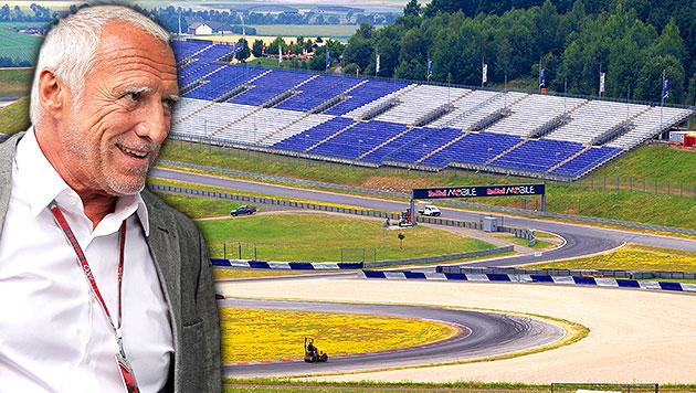 """Mateschitz: """"GP von Österreich hat einzigartigen Ruf"""" (Bild: EPA, APA/ERWIN SCHERIAU, krone.at-Grafik)"""