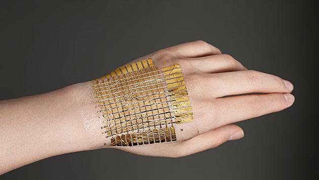 Forscher entwickeln extrem dünne Elektrofolie (Bild: ntech.t.u-tokyo.ac.jp)