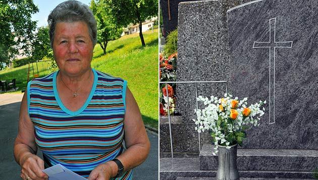 OÖ: Grabsteinfirma erklärt Frau (74) irrtümlich für tot (Bild: Horst Einöder, Christian Jauschowetz (Symbolbild))