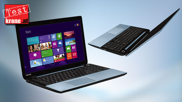 Multimedia-Laptop mit tollem Sound: Satellite S50-A-10H (Bild: Toshiba, thinkstockphotos.de, krone.at-Grafik)