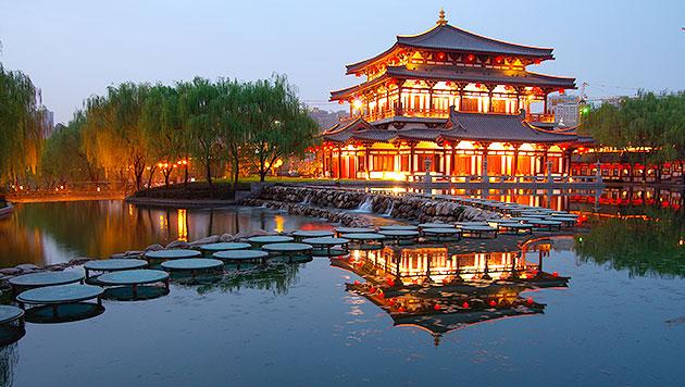 """Zu Besuch in Xi""""an: Anfang und Ende der Seidenstraße (Bild: thinkstockphotos.de)"""