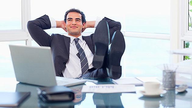 Österreicher mit PC & Co. im Büro am zufriedensten (Bild: thinkstockphotos.de)