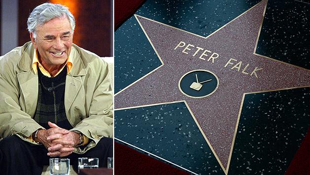 """Columbo""-Star Peter Falk erhielt Hollywood-Stern (Bild: EPA)"
