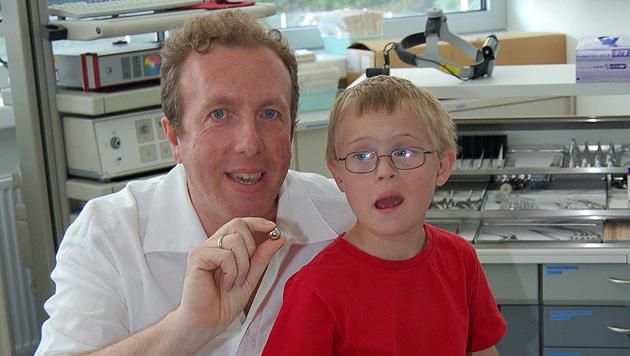 Elfjähriger Bub mit heikler OP vor Ersticken gerettet (Bild: BHS Ried)