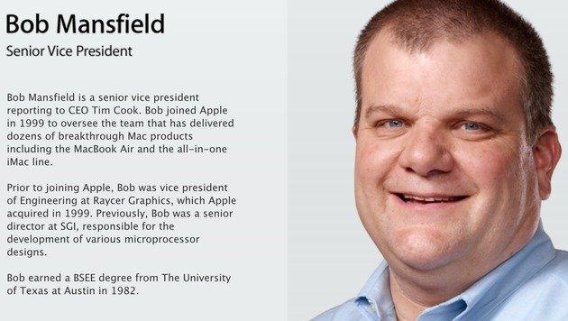 Technikexperte Mansfield verlässt Apple-Führung (Bild: Apple)