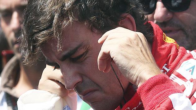 Ferrari rüffelt seinen Starpiloten Fernando Alonso (Bild: AP)