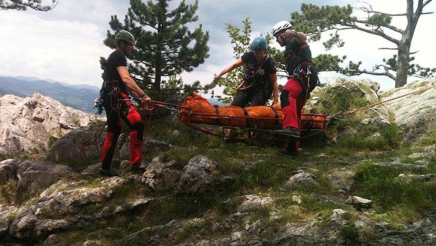 Bergführer vor Augen der Gruppe abgestürzt - tot (Bild: Petra Illnar)