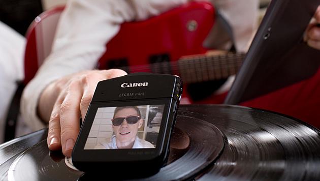 Canon Legria mini: Camcorder für Selbstdarsteller (Bild: Canon)