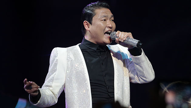 Rapper Psy arbeitet in den USA an neuer Platte (Bild: AP)