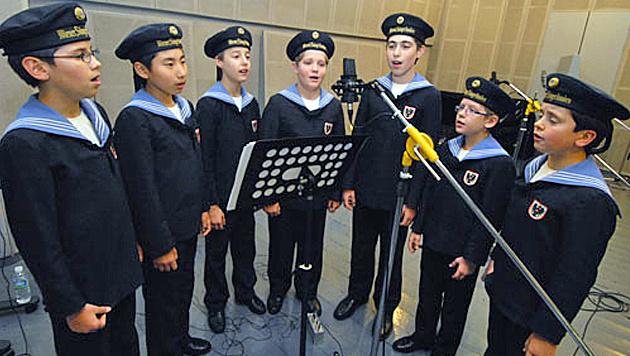 Sängerknaben singen Klingeltöne für neues LG-Handy (Bild: LG)