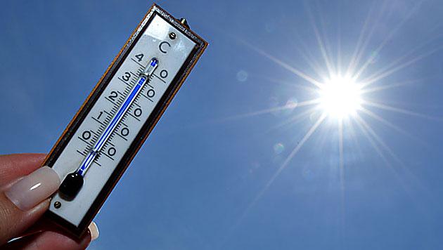 Salzburg, OÖ und NÖ knackten die 30-Grad-Marke (Bild: APA/Barbara Gindl)
