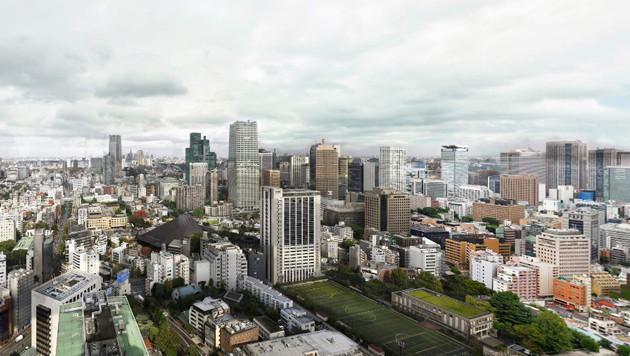 Riesenpanoramabild Tokios ist 600.000 Pixel breit (Bild: Screenshot, 360cities.net)