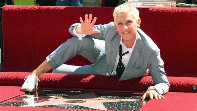 US-Talkerin Ellen DeGeneres moderiert die Oscars (Bild: AFP)