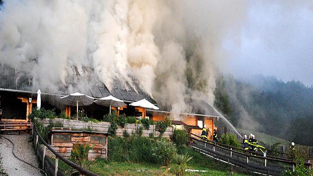 NÖ: Brand in Reptilienzoo nicht vorsätzlich gelegt (Bild: BFK Amstetten)
