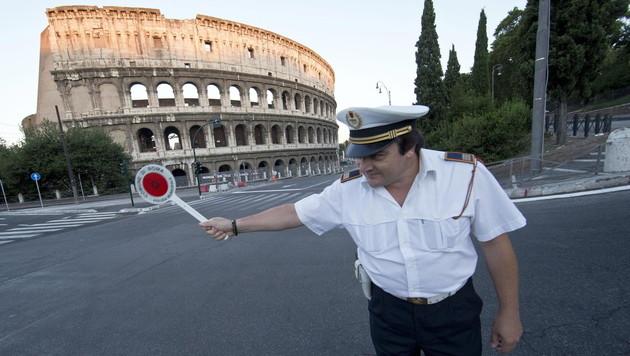 Für eine Reise nach Rom nutzte eine Leserin einen Gutschein - nach sechs Monaten wurde er eingelöst. (Bild: EPA)