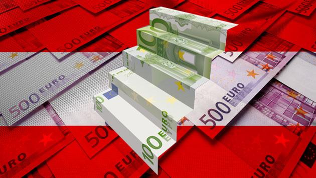 Vermögen der Reichen in Österreich steigt wieder (Bild: thinkstockphotos.de, krone.at-Grafik)