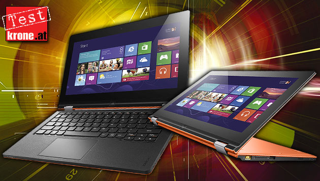 Der zweite Versuch: Lenovos Yoga 11S im Praxistest (Bild: Lenovo, thinkstockphotos.de, krone.at-Grafik)