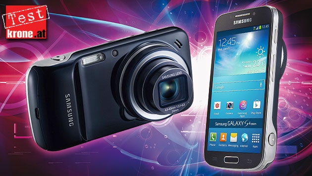 Galaxy S4 Zoom: Das Fotohandy mit 10x-Zoom im Test (Bild: Samsung, thinkstockphotos.de, krone.at-Grafik)