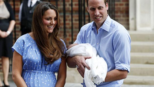 Prinz William muss jetzt wieder zur Arbeit (Bild: AP)