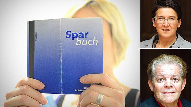 SPÖ-Rebellen wollen Bankgeheimnis abschaffen (Bild: APA/HELMUT FOHRINGER, APA/GEORG HOCHMUTH)