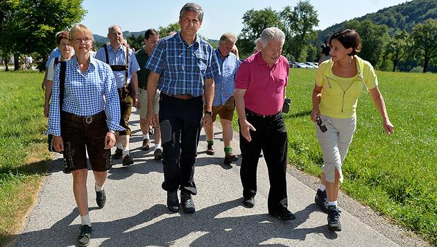 """Spindelegger: """"Wollen mehr ÖVP und weniger SPÖ"""" (Bild: APA/BARBARA GINDL)"""