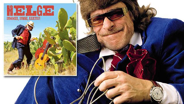 Komiker Helge Schneider mit leichtem Sommeralbum (Bild: Universal Music)