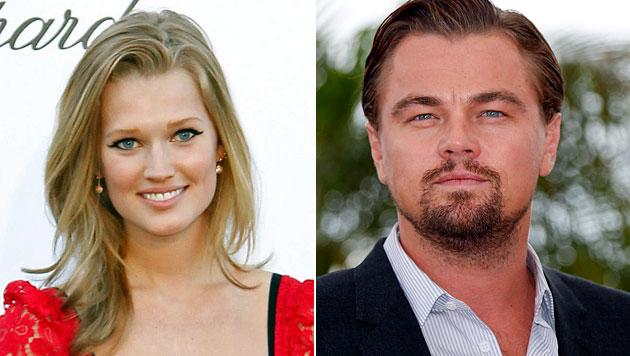 Leonardo DiCaprio macht sexy Freundin zum Star (Bild: EPA)