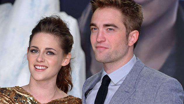 Pattinson verbringt das Wochenende mit Stewart (Bild: EPA)