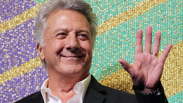 Dustin Hoffman erfolgreich wegen Krebs behandelt (Bild: EPA)