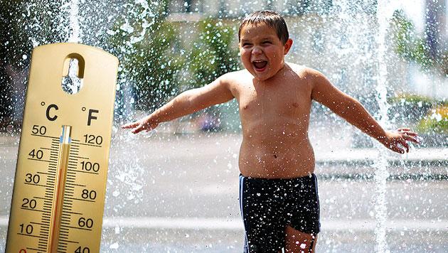 Extreme Hitze und starke Gewitter stehen bevor (Bild: thinkstockphotos.de, APA/GEORG HOCHMUTH)