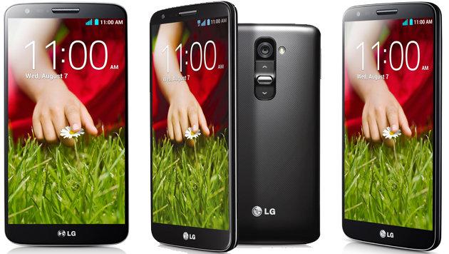 """LG enthüllt sein """"Sängerknaben-Smartphone"""" G2 (Bild: LG)"""