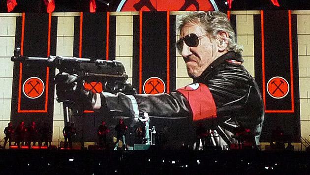 Roger Waters mit audiovisuellem Meisterwerk (Bild: EPA)
