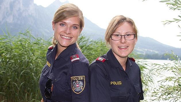 Polizistinnen retteten in Seenot geratene Kinder (Bild: Neumayr)