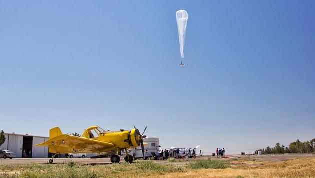 """""""Wenn man Malaria hat, hilft kein Google-Ballon"""" (Bild: Google/Project Loon)"""
