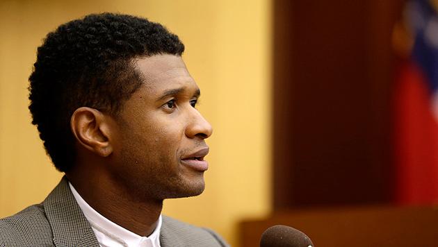 R&B-Star Usher behält Sorgerecht für seine Söhne (Bild: AP)