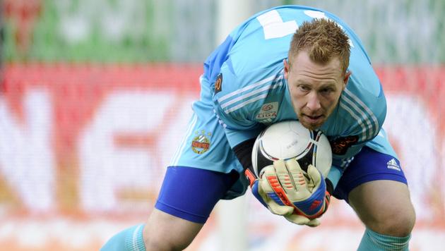 Lukas Königshofer verlässt Halleschen FC (Bild: APA/HERBERT NEUBAUER)