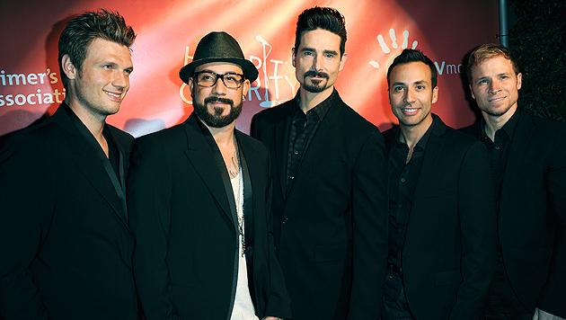 Backstreet Boys: Viel Schlaf statt Party auf Tour (Bild: AP)