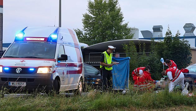 Gehbehinderte Frau von Auto erfasst und getötet (Bild: Matthias Lauber/laumat.at)