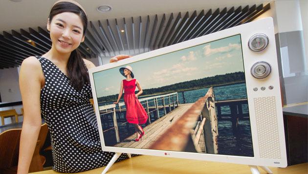 LG bringt Full-HD-Fernseher im Look der Siebziger (Bild: LG Electronics)