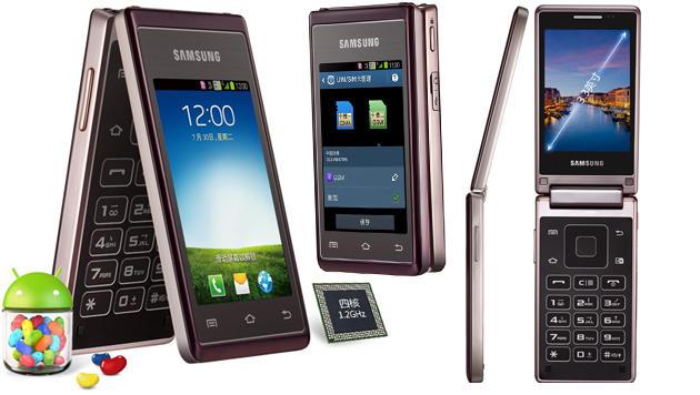 Samsung lässt Klapphandys wiederauferstehen (Bild: Samsung, krone.at-Grafik)