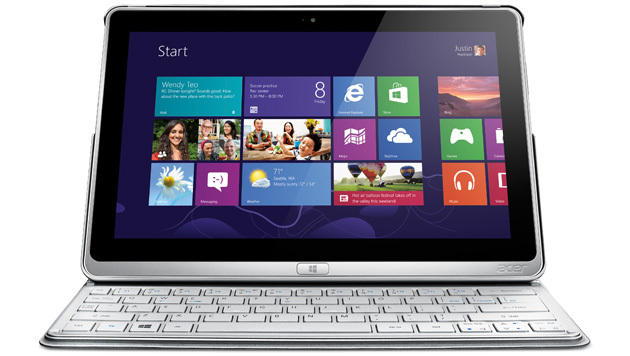 Acer Aspire P3: Windows-Tablet im Aktenmappen-Look (Bild: Acer)