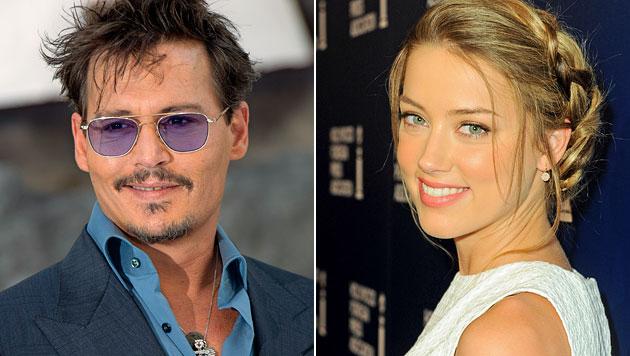 Amber Heard angeblich gelangweilt von Johnny Depp (Bild: AP)