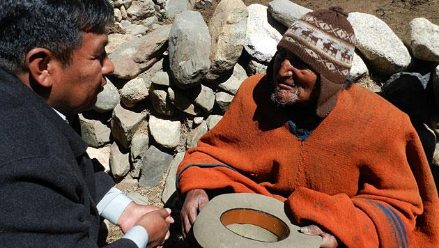 Indianer in Bolivien soll 123 Jahre alt sein (Bild: La Paz Government)