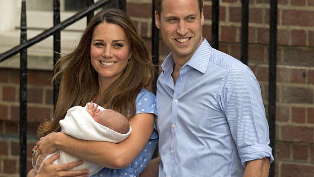Kate gönnt sich nach Geburt nur eine kurze Auszeit (Bild: AP)