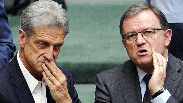 Koalition bekommt Demokratiepaket zurückgeknallt (Bild: APA/ROLAND SCHLAGER)